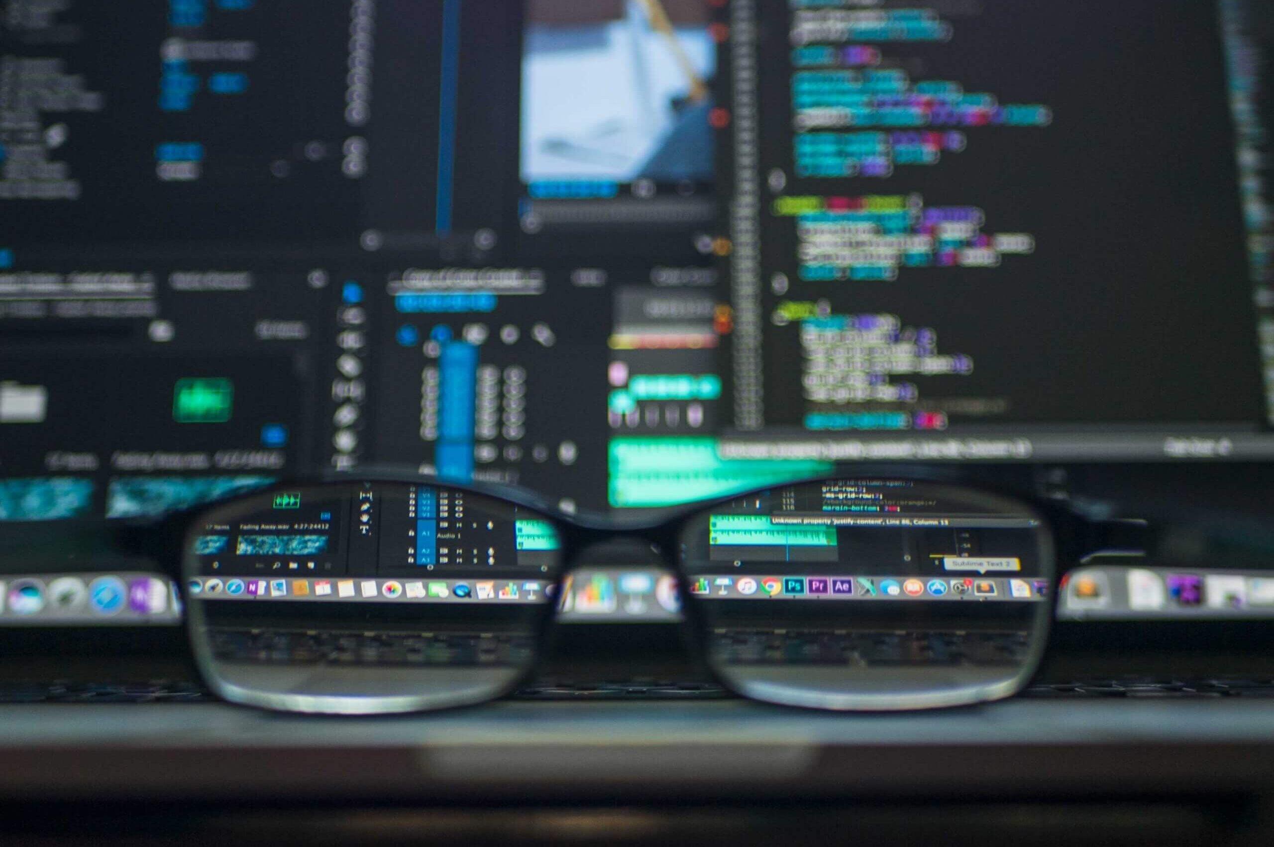 App Developer coding