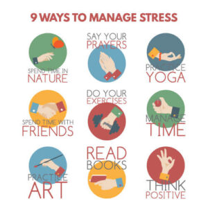 coping up stress ways